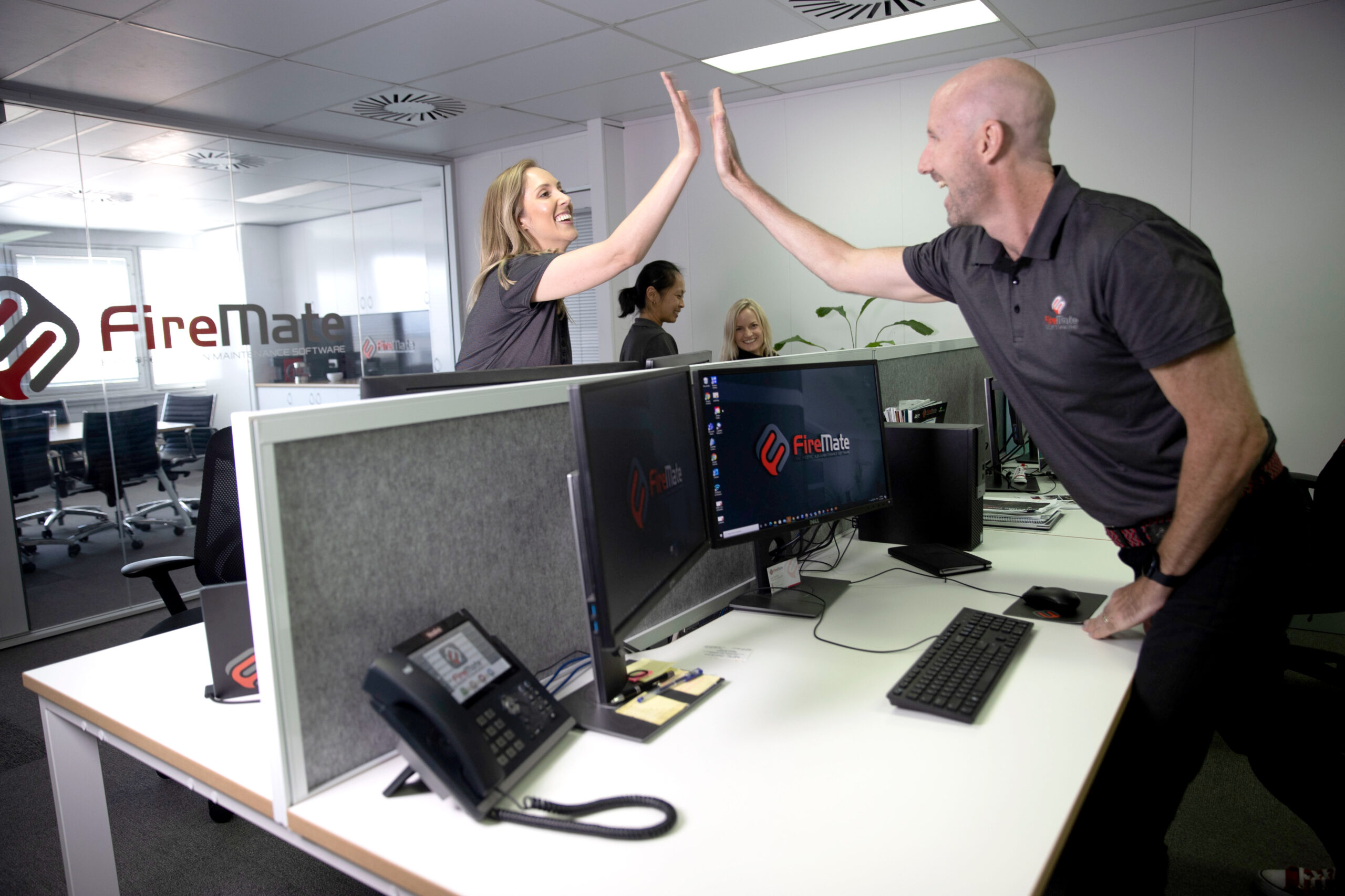 FireMate Software Specialists Teamwork